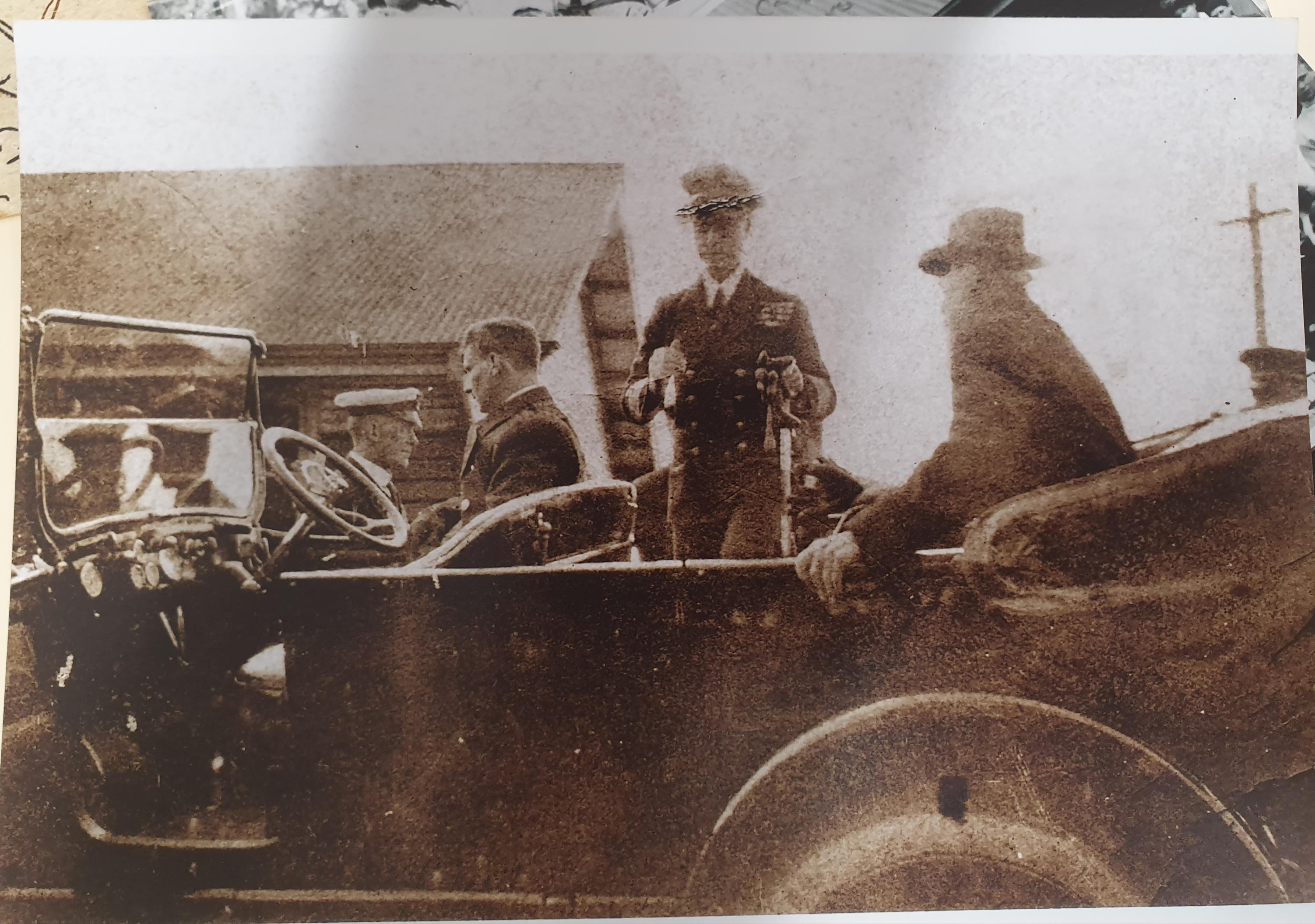 Prince of Wales visits, June 1920