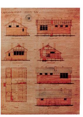 original drawings of school